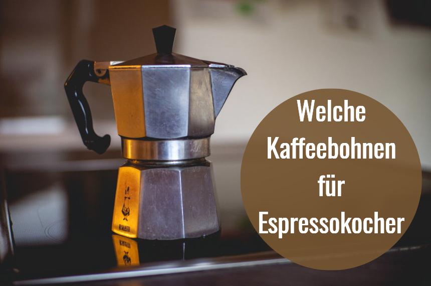 kaffeebohnen espressokocher mokkakanne